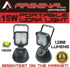 2016 Design 15W Portable Rechargeable ARSENALTM LED Work Light