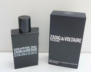 Zadig & Voltaire This is Him! Eau de Toilette Spray, 50ml, Brand New in Box!