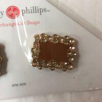 Lindsay Phillips Seurat Snaps Shoe Jewelry Interchangeable Snaps