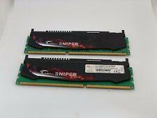 G.Skill Sniper 8GB (2x4GB)PC3-12800 XMP DDR3-1600 f3-12800cl9d-8gbsr