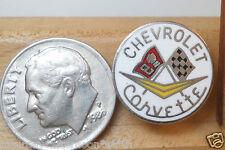 Chevrolet Corvette Racing Flags Chrome Collectable Lapel Hat Vest Pin Tie Tack