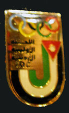 1980s very rare JORDAN Olympic NOC Delegation Team pin