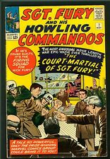 Sgt. Fury & His Howling Commandos #7 ~ Sergeant Fury (1964) Fine+ (6.5) ~ Marvel