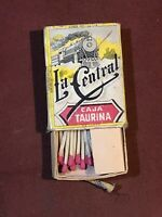 Vintage La Central CAJA TAURINA (The Central Bullfighting Box) #40 Matchbox