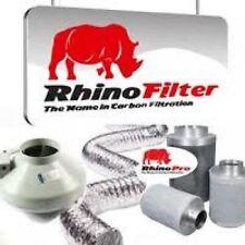 Rhino Pro Carbon Filter Kit  (150mm/6 Inch) Fan Filter Duct Kit Hydropomics