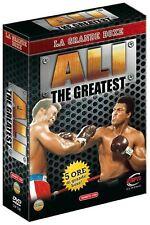 Box Muhammad Ali The Greatest Cassius Clay Boxe 3 DVD Alta Qualità Nuovo