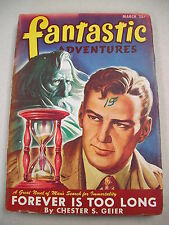 """""""FANTASTIC ADVENTURES"""" 3/47 COMPLETE `TOFFEE` NOVEL BY MYERS! `E.K. JARVIS`PSEUD"""