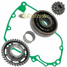 STARTER CLUTCH & DRIVEN GEAR REDUCTION GEAR w/GASKET FIT HONDA CRF450X 2005-2017
