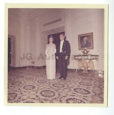 "John F. Kennedy and Jackie Kennedy - Vintage Cecil Stoughton 5x5"" Photo 1963"