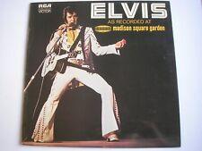 ELVIS PRESLEY At Madison Square Garden UK LP 1972 ex+/ex+