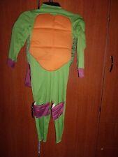 Teenage Mutant Ninja Turtle Child Costume w/ Soft Shell - Size 4-6X approx