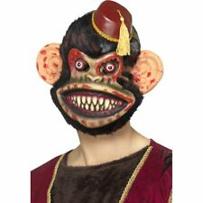 ZOMBIE RETRO TOY MONKEY MASK WITH FUR HALLOWEEN PARTY ACCESSORY HORROR NEW