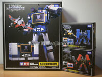 Transformers Soundwave Takara MP-13 MP15 MP16 KO With Laserbeak Action Figure 09