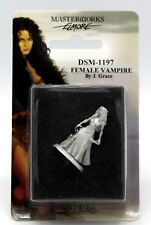 Dark Sword DSM-1197 Female Vampire Elmore Masterworks Fantasy Undead Adventurer