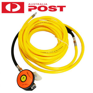 Air Breathing Hose 8mm x 15m /30m with Regulator Scuba Hookah Diving Spray Booth