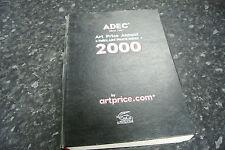 Rare ADEC ART PRICE ANNUAL & FALKS  ART PRICE INDEX guide to art valuations 2000