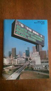 MICHAEL JORDAN 1983 ACC BASKETBALL TOURNAMENT PROGRAM NORTH CAROLINA TAR HEELS