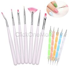 12 X Nail Art Design UV Gel Dotting Drawing Painting Polish Brush Pen Set