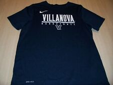 NIKE DRI-FIT ATHLETIC CUT VILLANOVA BLUE ACTIVE SHIRT BOYS LARGE 14-16 EXCELLENT