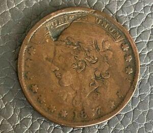 USA 1837 Hard Times Token