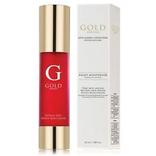 Gold Serums Pure Anti-ageing Retinol Skin Renew Night Moisturiser