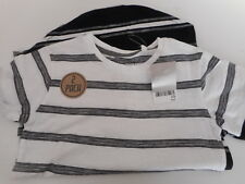 Boys 'NEXT' 2-Pack Striped TOPS/T-SHIRTS, AGE 6 YEARS, NWT.