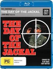 DAY OF THE JACKAL (Edward Fox) -  Blu Ray - Sealed Region B for UK sent from UK!