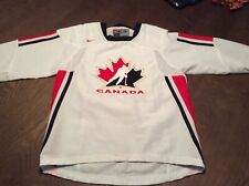 Canada National Hockey Team Nike Jersey Youth L/XL Boys White Olympics