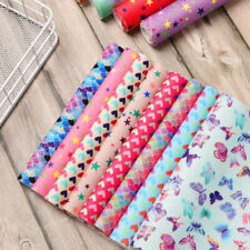 DIY Accessories Glitter Material Leather Fabric Faux Leather Handmade Cloth