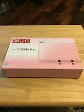 Nintendo 3DS XL Launch Edition White & Pink Handheld System