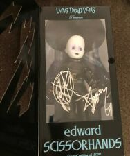 Living Dead Dolls Edward Scissorhands Sdcc 2005 Exclusive Signed New in Box