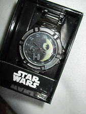 Star wars imperial death star   quartz movement watch in box