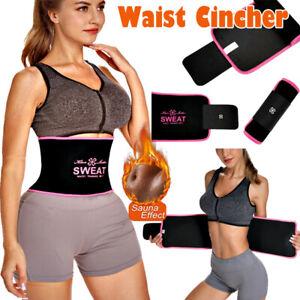 Waist Trimmer Weight Loss Abs Belt Premium Stomach Fat Burner Wrap Waist Trainer