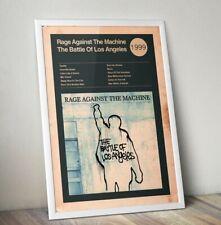 More details for rage against the machine art print, album cover art print,