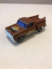 Chevy C-10 Stepside Pickup Truck 1:64 Diecast Chevrolet Farm Bandit Brown