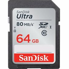 NEW-SanDisk-64GB-Ultra-SDXC-SD-Card-Class-10-UHS-I-Memory-Card-80MB-S-For-Camer