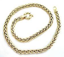 Echte Edelmetall-Halsketten & -Anhänger ohne Steine aus Gelbgold mit Gemischte Themen für Damen