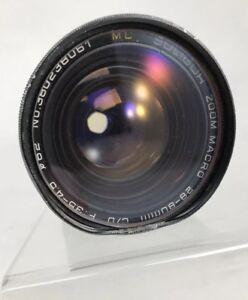 *Vintage* Soligor Zoom Macro 28-80mm C/D F:3.5-4.5 62 MC Lens No. 380238061   TB