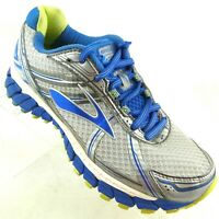 Brooks Women's Running Shoes US 7AA Adrenaline GTS-15 Silver Blue Mesh Narrow