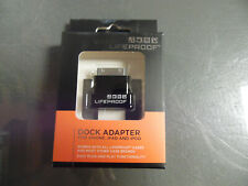 Brand New Authentic Lifeproof Apple Iphone 4/4S, Ipad, Ipod Dock Adapter 30 Pin
