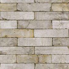 Rasch Paperhangings 203608 Paperwallpaperrasch Collection Stones Woods Brown