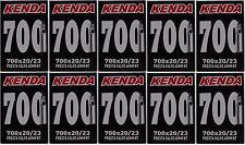 6x KENDA 700c Presta Road Tube 700x20/23/25 F/v P/v 60mm Long Threadless Valve