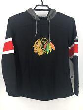 Chicago Blackhawks Adidas Black Hoodie Sweatshirt Boys size L, Large