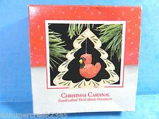 """Hallmark """"Christmas Cardinal""""  Ornament 1988"""