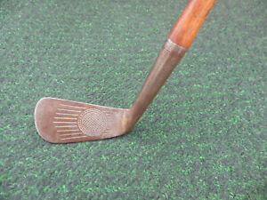 Antique Kroydon J7 Forged Fancy Face Hickory Shaft Mid Iron