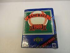 1989 Upper Deck Baseball High # Series Set
