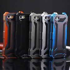 Waterproof Shockproof Aluminum Gorilla Glass Metal Case Cover For iPhone 5 6+ UK
