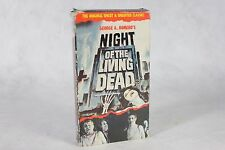 George Romero's Night Of The Living Dead Horror Movie Good Times Video Vhs 1968!