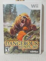 Cabelas World's Most Dangerous Hunts 2009 WII Sports (Video Game)