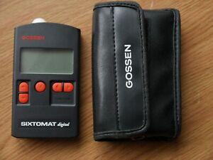 Gossen Sixomat Digital light meter